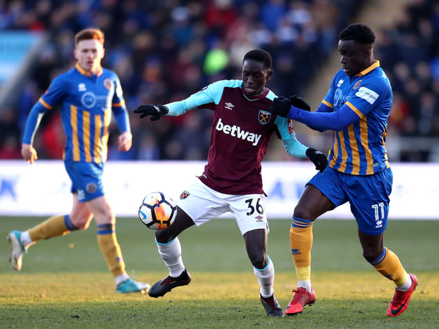 Shrewsbury Town v West Ham United - The Emirates FA Cup Third Round