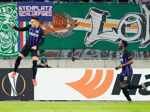 SK Rapid Wien v FC Internazionale - UEFA Europa League Round of 32: First Leg