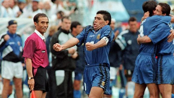 SOCCER-WORLD CUP-1994-ARGENTINA-GREECE