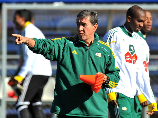 South Africa's coach, Brazilian Carlos P