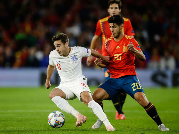 Spain  v England  -UEFA Nations league
