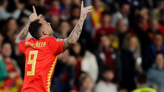 Spain  v England  -UEFA Nations league