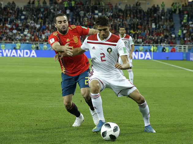 Spain  v Morocco  -World Cup