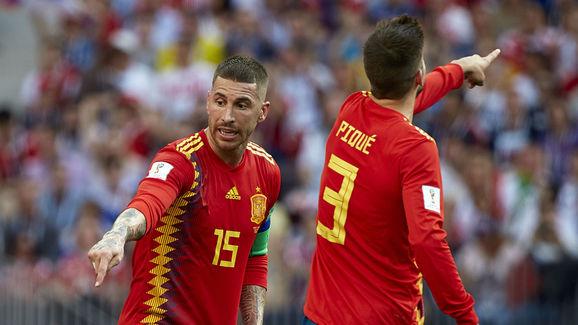 Gerard Pique,Sergio Ramos Garcia - Soccer Player