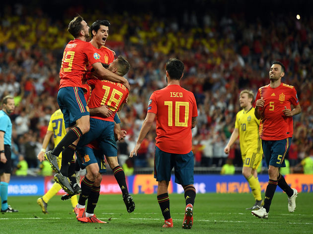 Spain v Sweden - UEFA Euro 2020 Qualifier