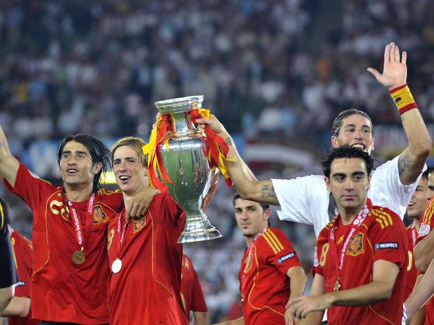 Ruben de La Red,Fernando Torres,Sergio Ramos,Xavi Hernandez