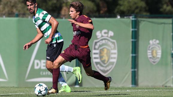 Sporting CP v FC Barcelona - UEFA Youth League