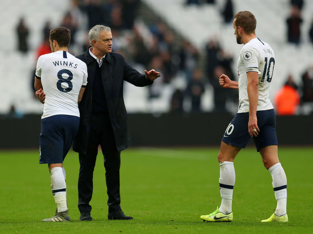 Jose Mourinho,Harry Winks,Harry Kane