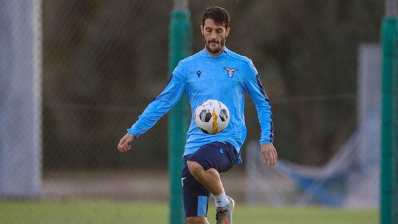SS Lazio Training Session & Press Conference