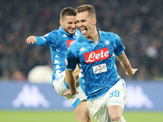 Arkadiusz Milik,Dries Mertens
