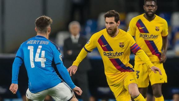 Dries Mertens, Lionel Messi
