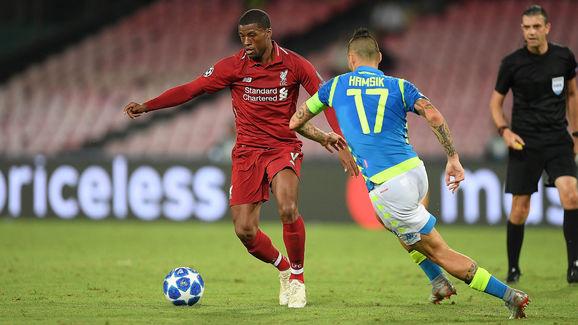 SSC Napoli v Liverpool - UEFA Champions League Group C
