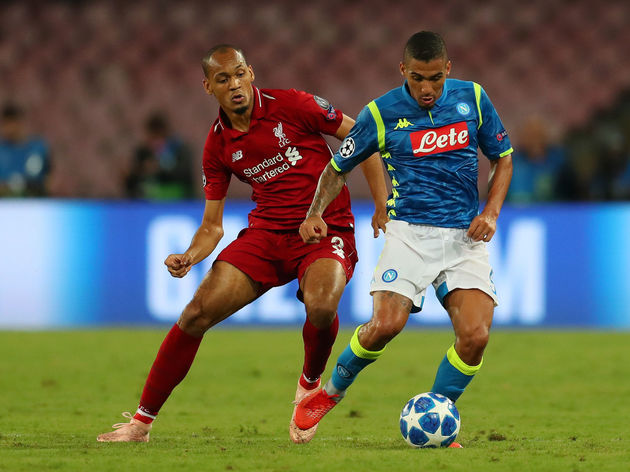 SSC Napoli v Liverpool - UEFA Champions League Group C