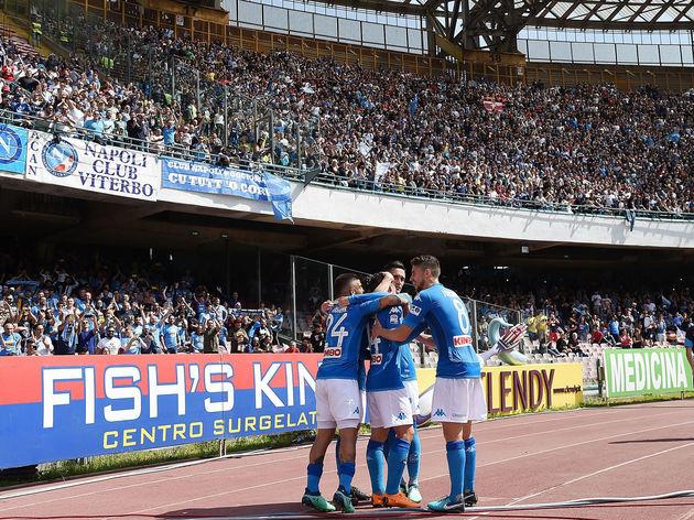 Lorenzo Insigne,Jorginho,Jose Callejon,Dries Mertens