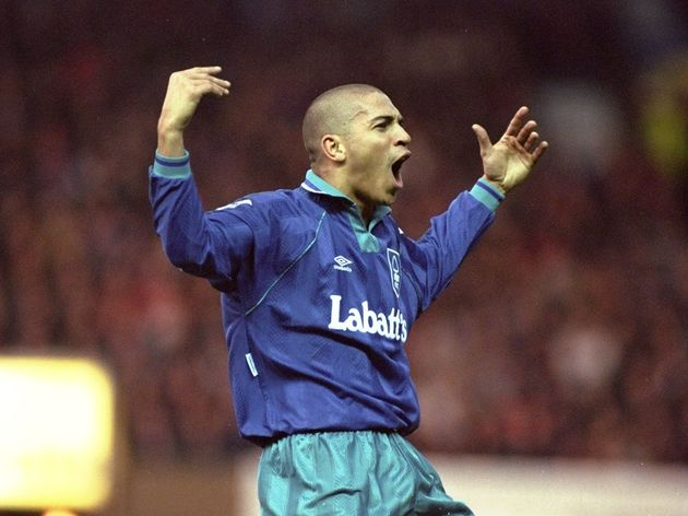 Stan Collymore of Nottingham Forest