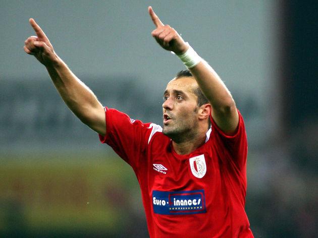 Standard Liege 's Milan Rapaic celebrate