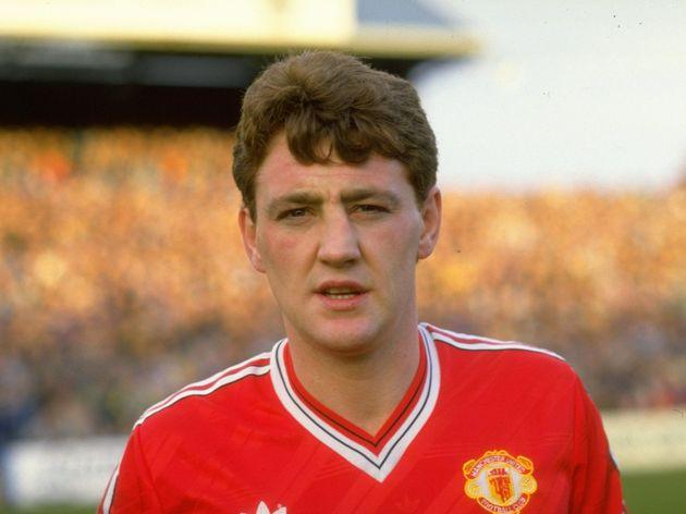 Steve Bruce of Manchester United