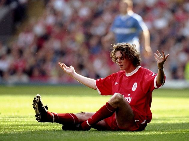 Steve McManaman of Liverpool