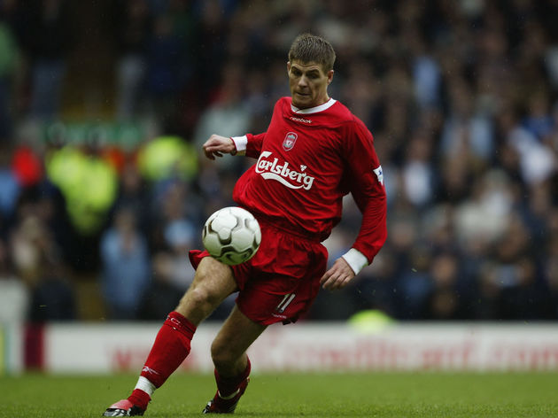 Steven Gerrard of Liverpool