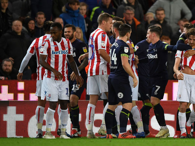 Stoke City v Derby County - Sky Bet Championship
