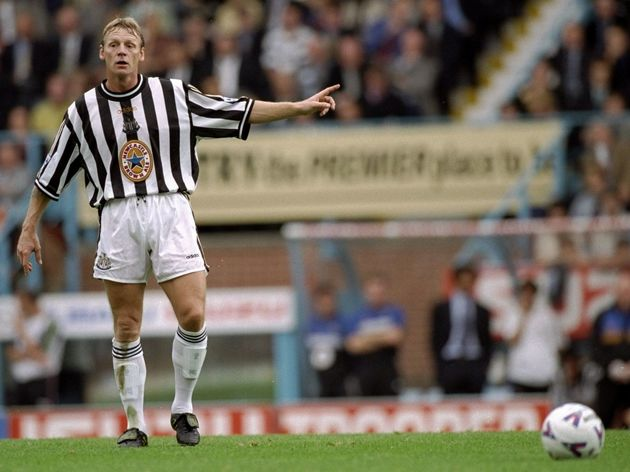 Stuart Pearce of Newcastle