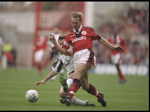 Stuart Pearce of Nottingham Forest