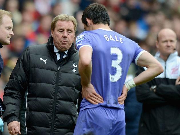 Gareth Bale,Harry Redknapp