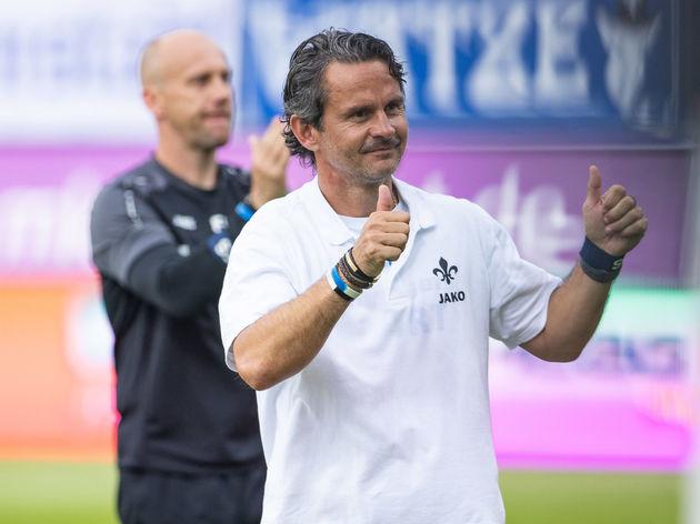 SV Darmstadt 98 v FC Erzgebirge Aue - Second Bundesliga