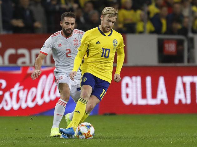 Sweden v Spain - UEFA Euro 2020 Qualifier