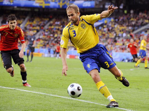 Olof Mellberg,David Villa