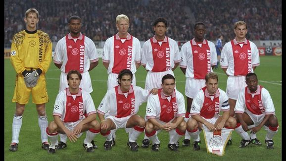 The Ajax team line up