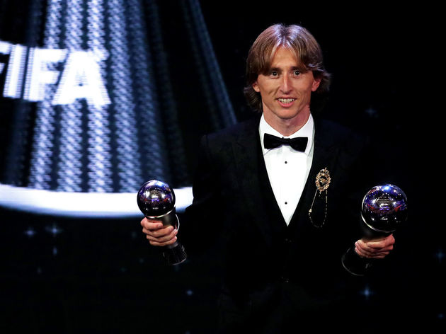 Photo Nike Celebrate Luka Modric S Fifa Award With Exclusive New
