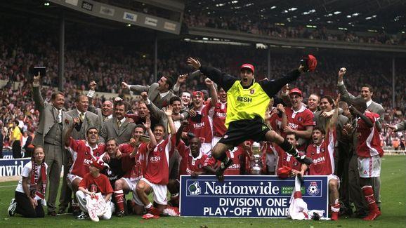 The Charlton Athletic team