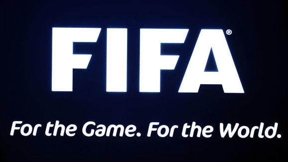 The FIFA logo on show at Fifa headquarte