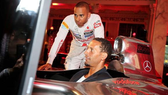 Lewis Hamilton,Rio Ferdinand