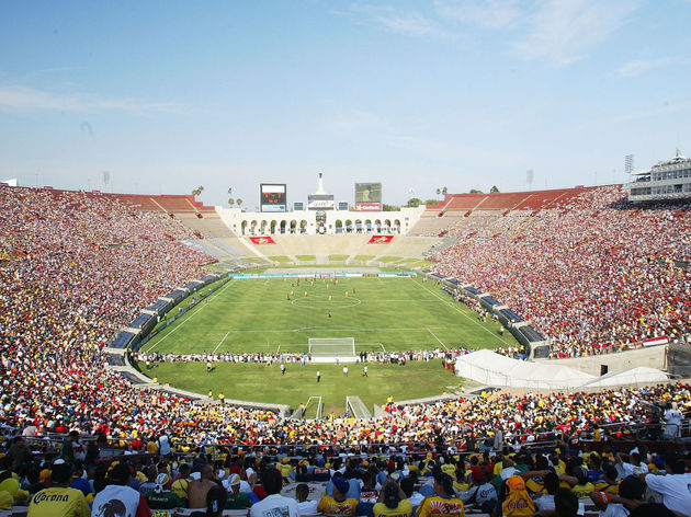 The Los Angeles Memorial Coliseum