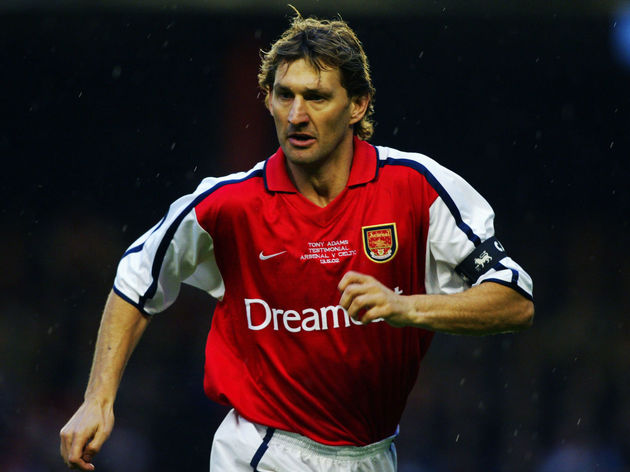 Tony Adams of Arsenal