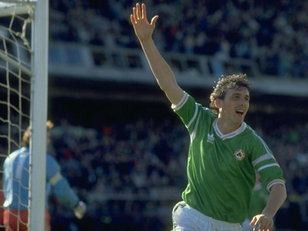 Tony Cascarino of Eire