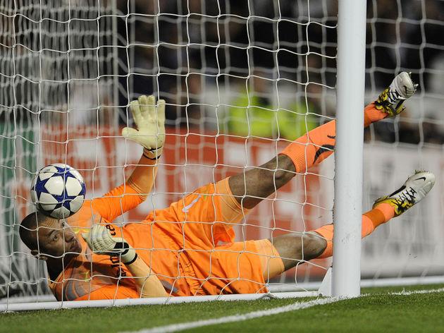 Tottenham Hotspur's Brazilian goalkeeper