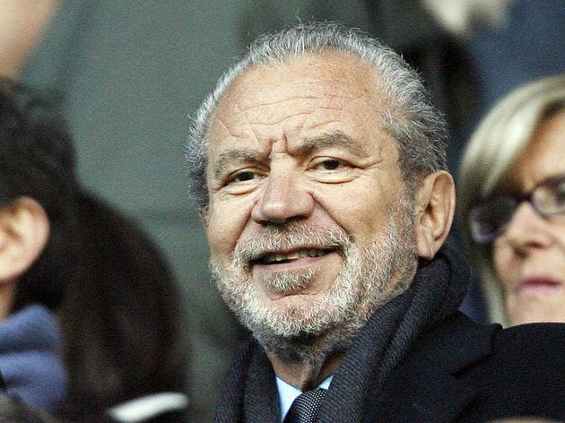 Tottenham Hotspur's former chairman Alan