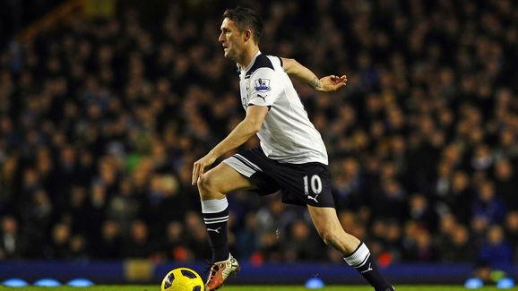 Tottenham Hotspur's Irish striker Robbie