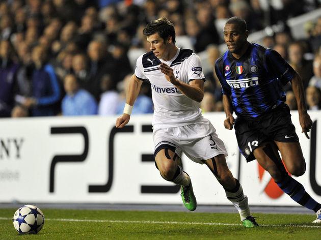 Tottenham Hotspur's Welsh defender Garet