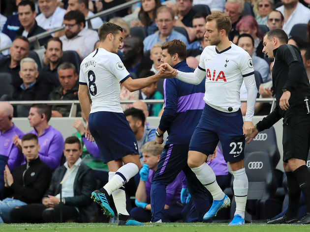 Harry Winks,Christian Eriksen