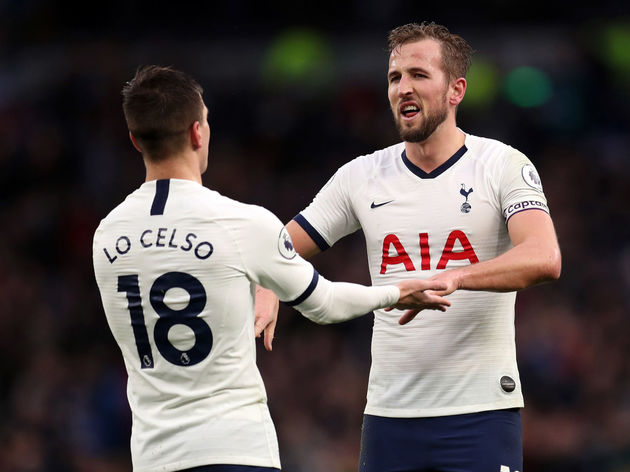 Harry Kane,Giovani Lo Celso