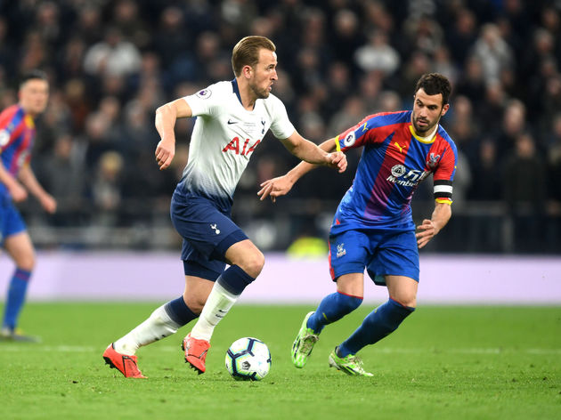 Image result for harry kane tottenham vs crystal palace 2019