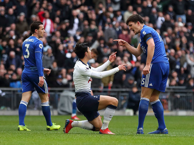 Son Heung-min,Harry Maguire