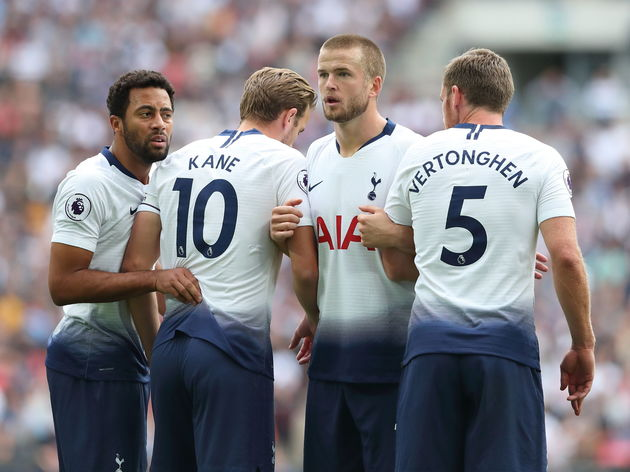 Mousa Dembele,Harry Kane,Eric Dier,Jan Vertonghen