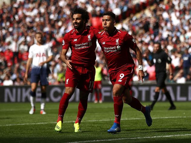 Roberto Firmino,Mohamed Salah