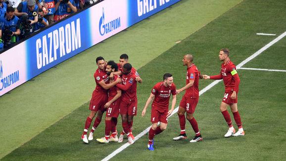 Mohamed Salah,Roberto Firmino,Jordan Henderson,Trent Alexander-Arnold,Georginio Wijnaldum