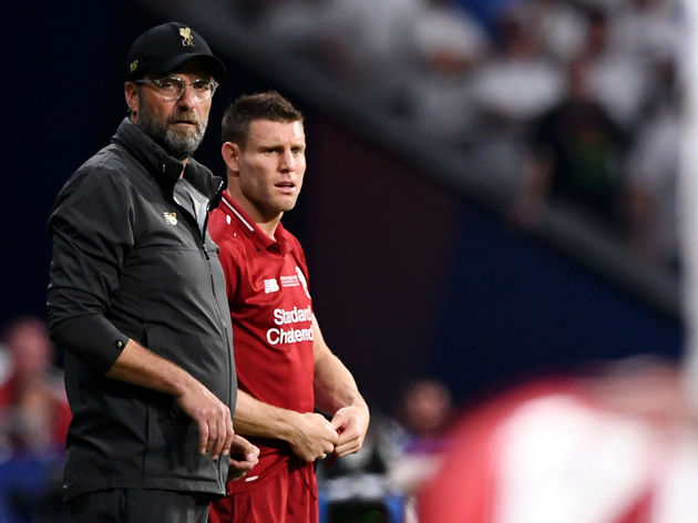 Jurgen Klopp,James Milner